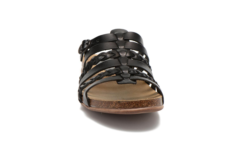 Mules et sabots Kickers Anae Noir vue portées chaussures