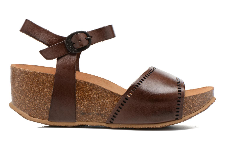 Sandales et nu-pieds Kickers Abyway Marron vue derrière