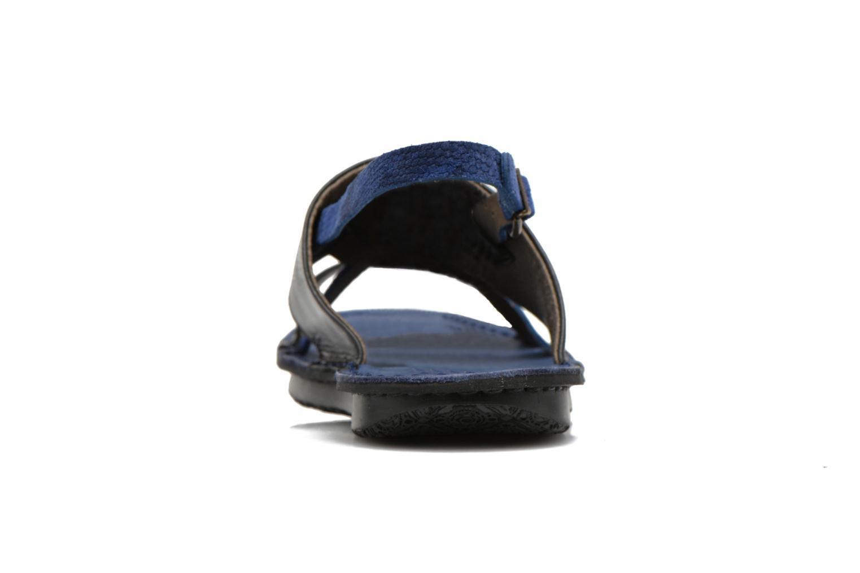 Sandales et nu-pieds Kickers Wawa Bleu vue droite