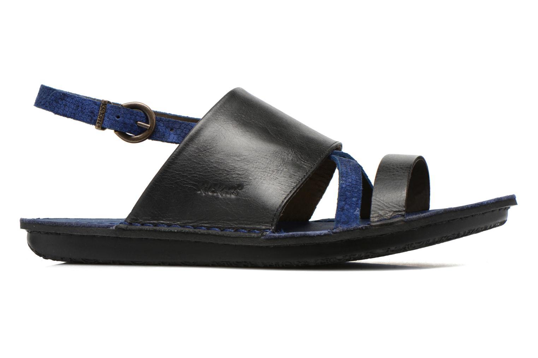 Sandales et nu-pieds Kickers Wawa Bleu vue derrière