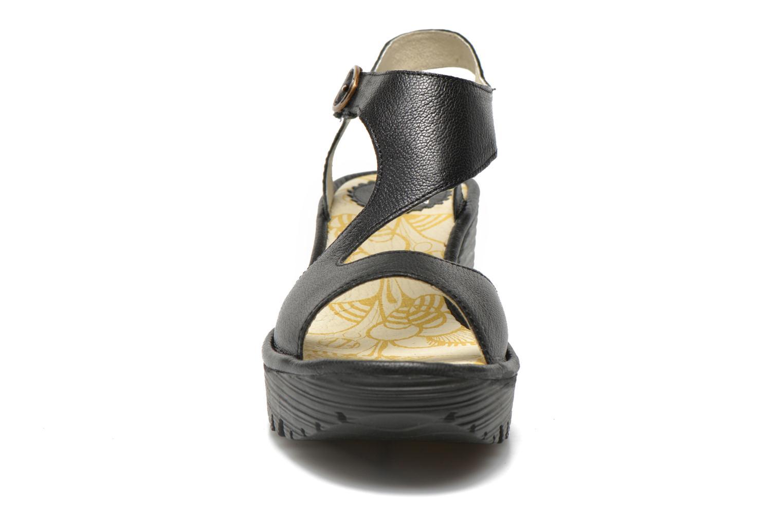 Sandalen Fly London Yanca schwarz schuhe getragen