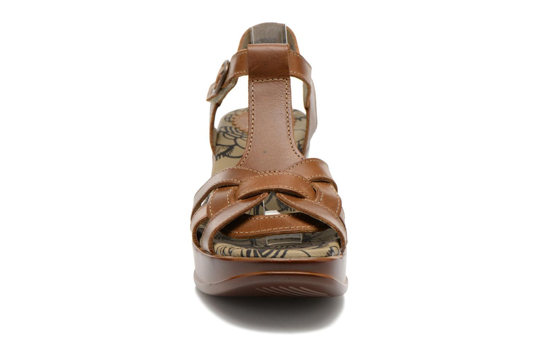 Sandals Fly London Hews Brown model view