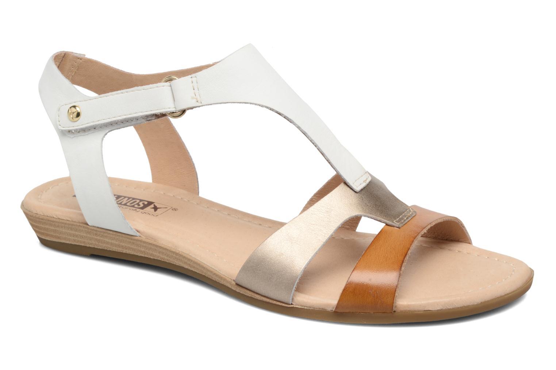 Sandales et nu-pieds Pikolinos Alcudia 816-0752 Multicolore vue détail/paire