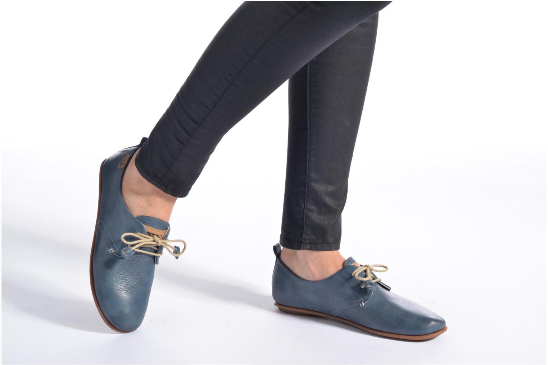 Zapatos con cordones Pikolinos Calabria 917-7123 Azul vista de abajo