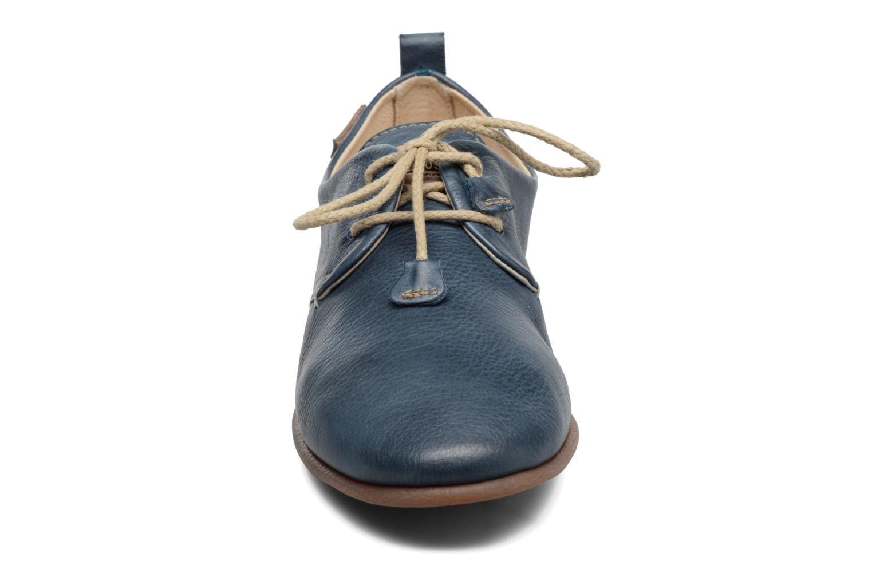 Zapatos con cordones Pikolinos Calabria 917-7123 Azul vista del modelo