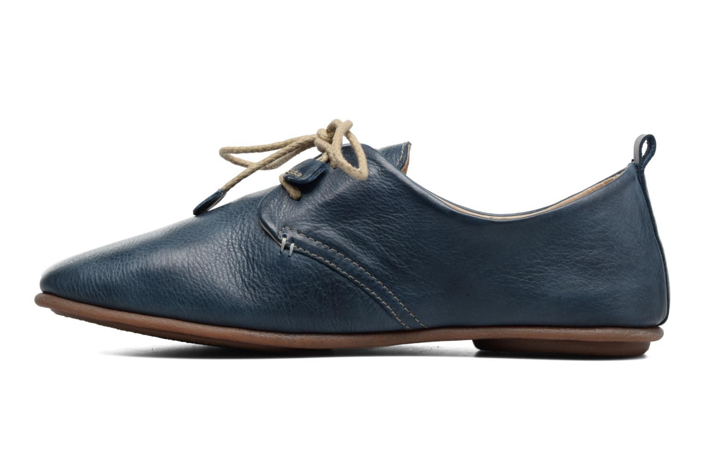 Zapatos con cordones Pikolinos Calabria 917-7123 Azul vista de frente