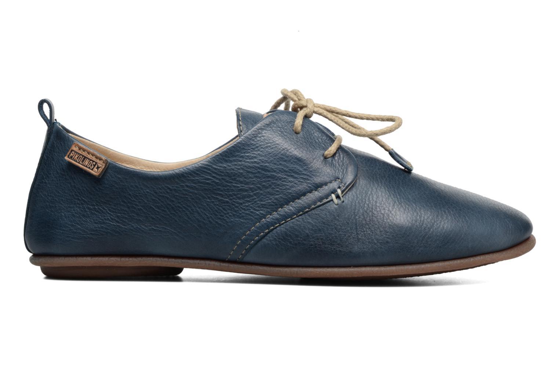 Zapatos con cordones Pikolinos Calabria 917-7123 Azul vistra trasera