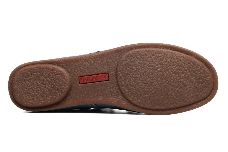 Zapatos con cordones Pikolinos Calabria 917-7123 Azul vista de arriba
