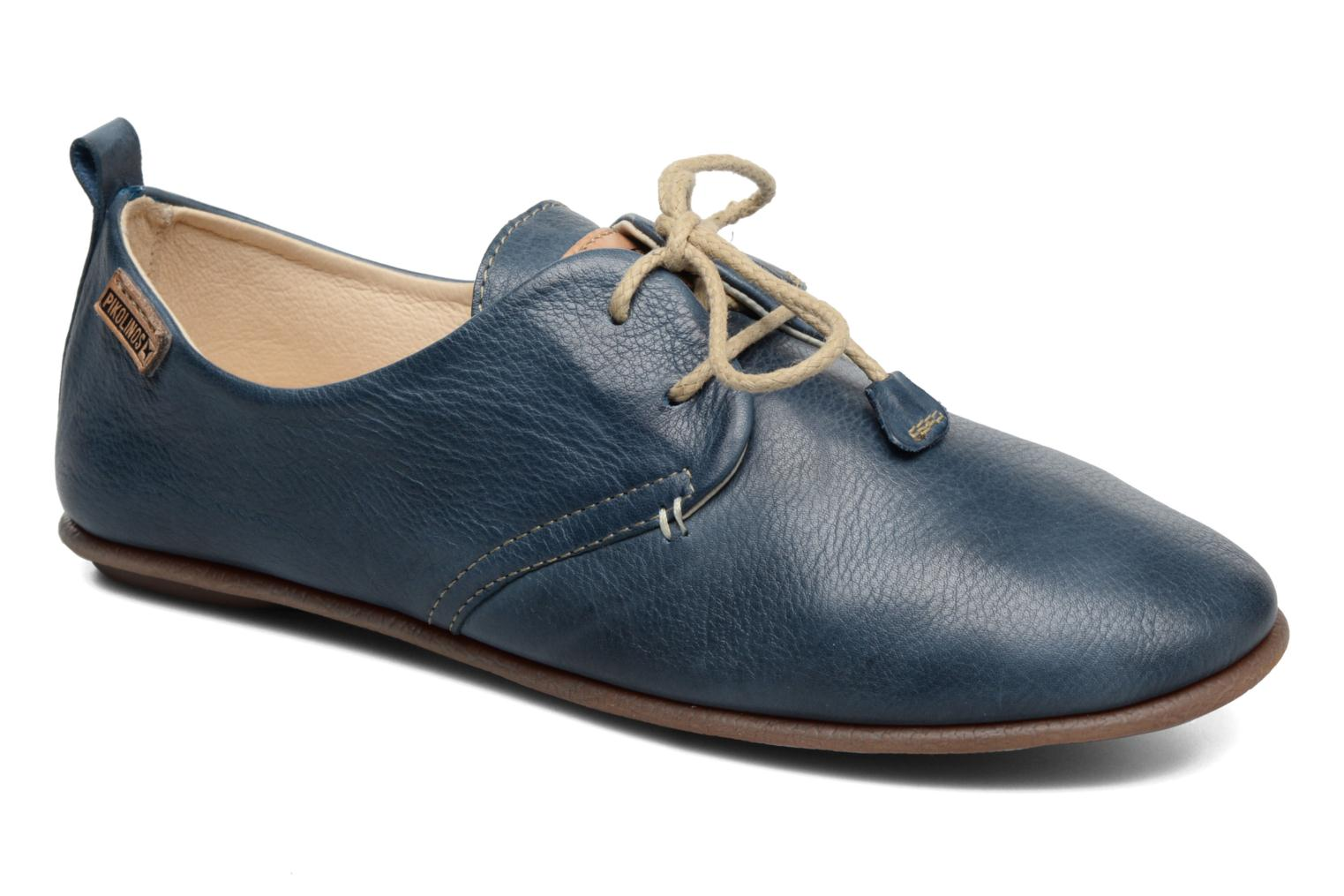 Lace-up shoes Pikolinos Calabria 917-7123 Blue detailed view/ Pair view