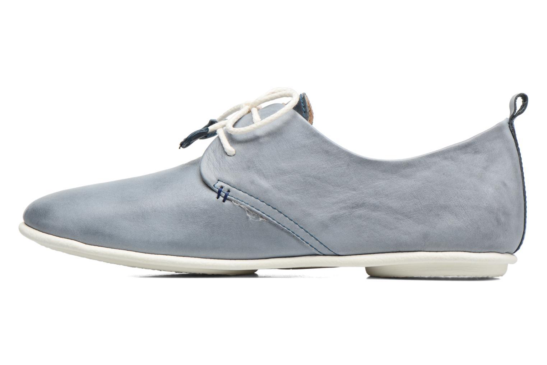 Chaussures à lacets Pikolinos Calabria 917-7123 Bleu vue face