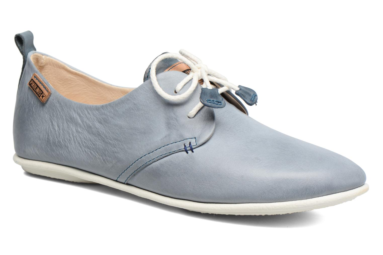 Chaussures à lacets Pikolinos Calabria 917-7123 Bleu vue détail/paire