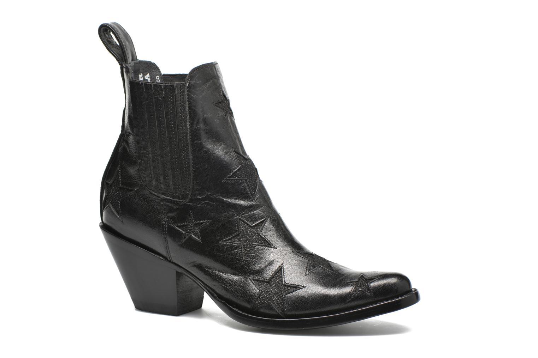 Boots en enkellaarsjes Mexicana Circus Zwart detail