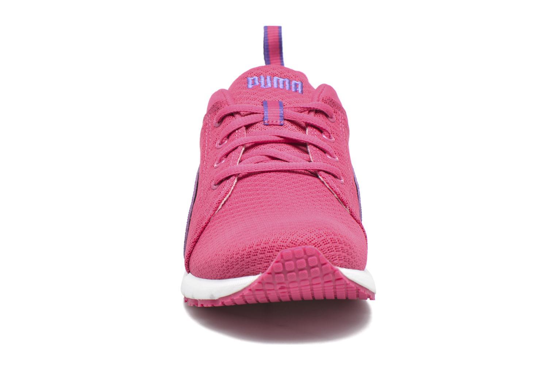 Baskets Puma Jr Carson Runner Violet vue portées chaussures