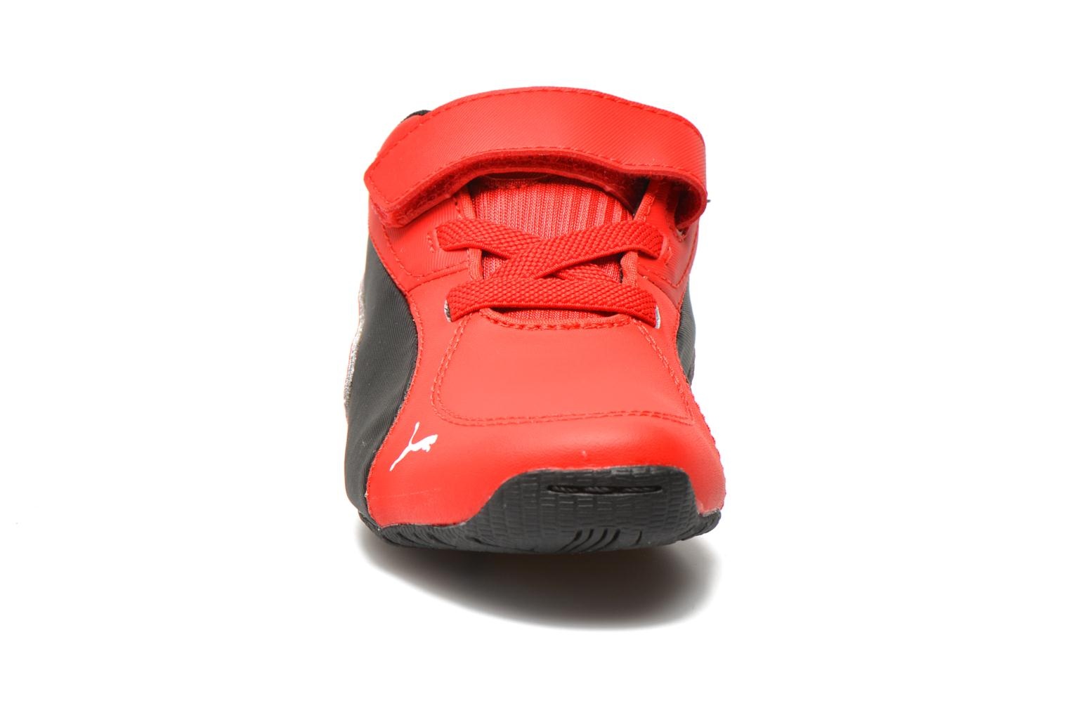 Sneaker Puma Kds Drift Cat5 L Sf V rot schuhe getragen