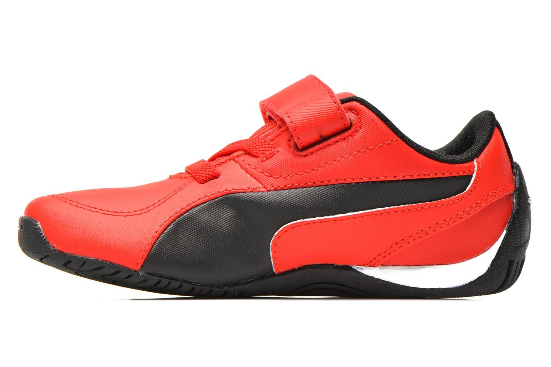 Sneaker Puma Kds Drift Cat5 L Sf V rot ansicht von vorne