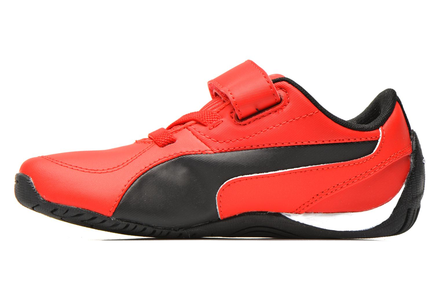 Trainers Puma Kds Drift Cat5 L Sf V Red front view