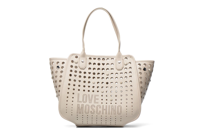 Handtaschen Love Moschino Cut out Cabas beige detaillierte ansicht/modell