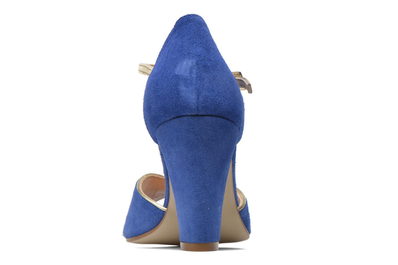 Escarpins Georgia Rose Gitango 2 Bleu vue droite