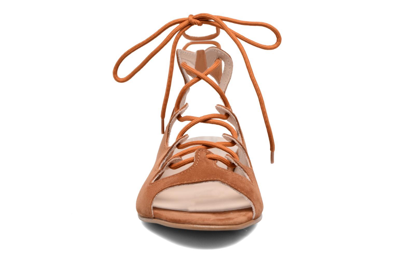 Sandalen Georgia Rose Gilize braun schuhe getragen