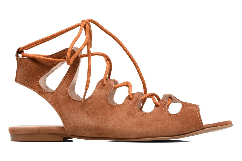 Sandalen Georgia Rose Gilize braun ansicht von hinten