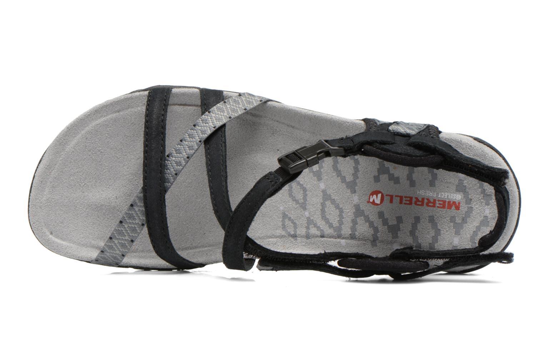 Zapatillas de deporte Merrell Terran Lattice II Negro vista lateral izquierda