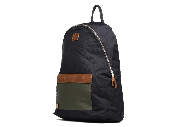 Sacs à dos Faguo Backpack nylon Bleu vue portées chaussures