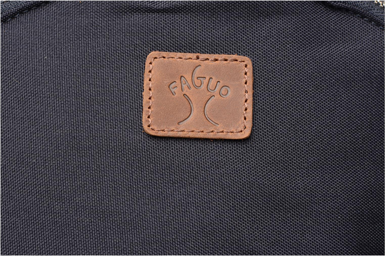 Sacs à dos Faguo Backpack nylon Bleu vue gauche