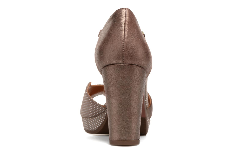 Sandales et nu-pieds Chie Mihara Nicas Marron vue droite
