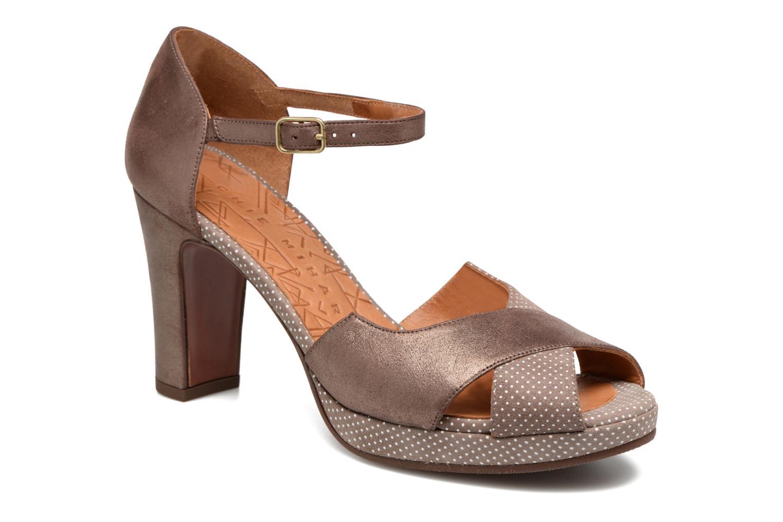 Sandales et nu-pieds Chie Mihara Nicas Marron vue détail/paire