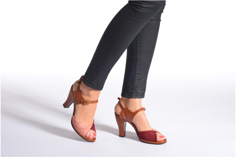 Sandalen Chie Mihara Fira rosa ansicht von unten / tasche getragen