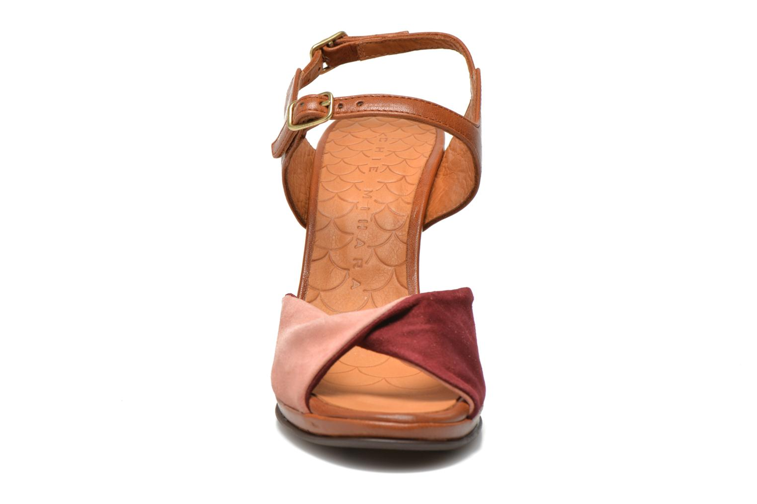 Sandals Chie Mihara Fira Pink model view