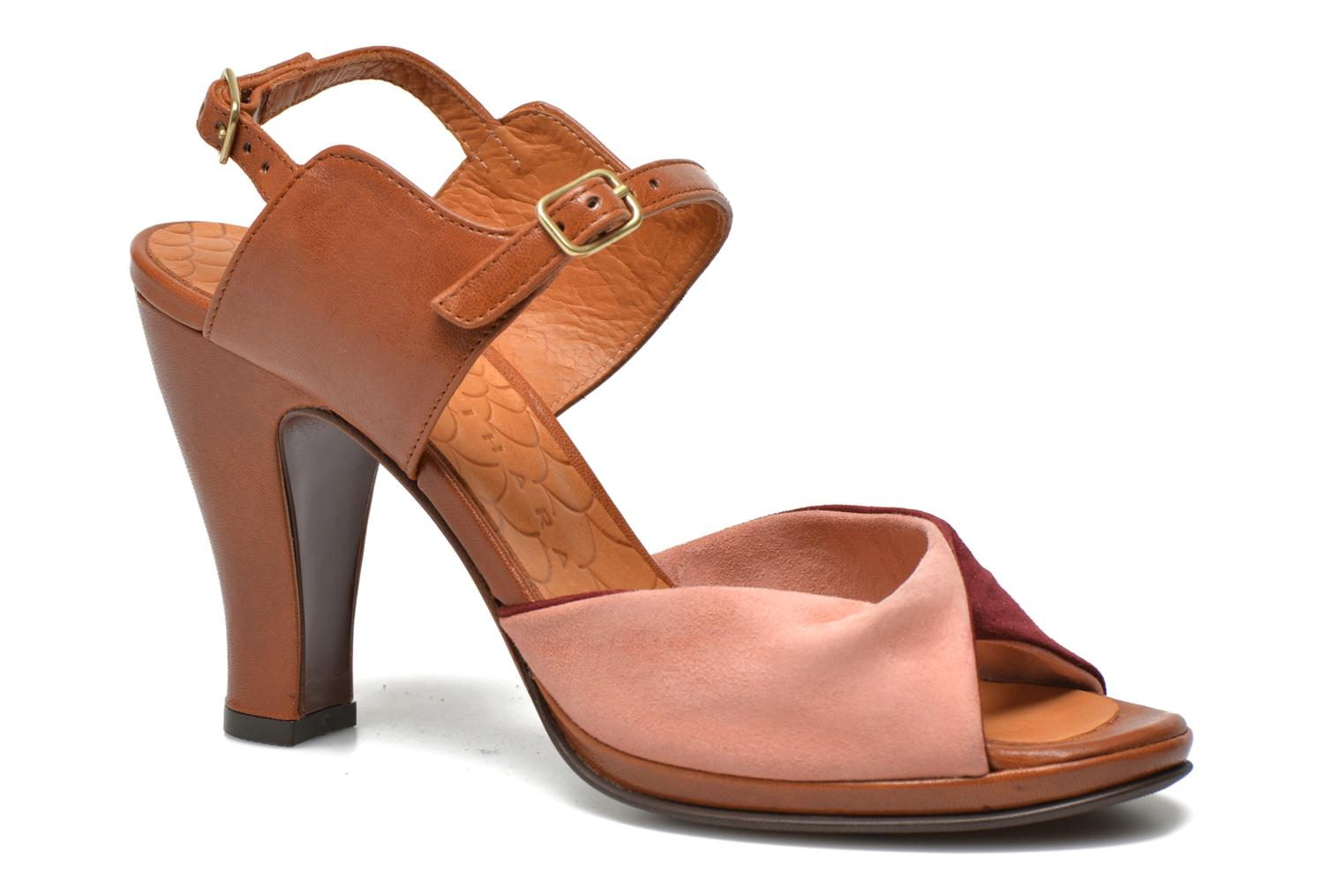 Sandals Chie Mihara Fira Pink detailed view/ Pair view