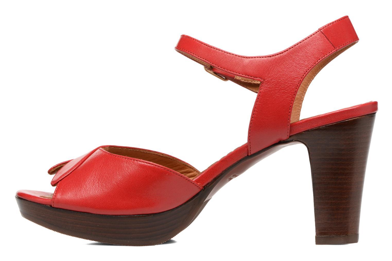 Sandalias Chie Mihara Jantra Rojo vista de frente