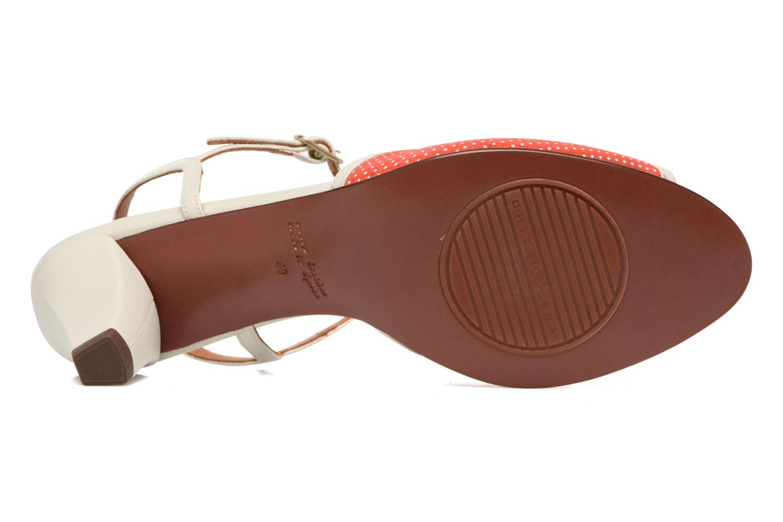 Sandals Chie Mihara Waya Red 3/4 view