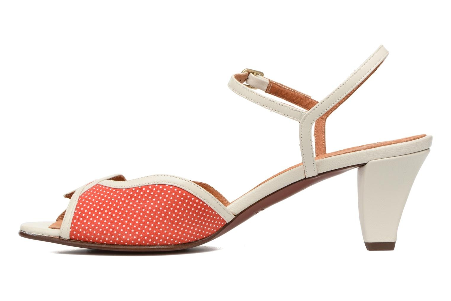 Sandals Chie Mihara Waya Red view from the right
