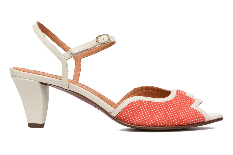 Sandalias Chie Mihara Waya Rojo vista lateral izquierda