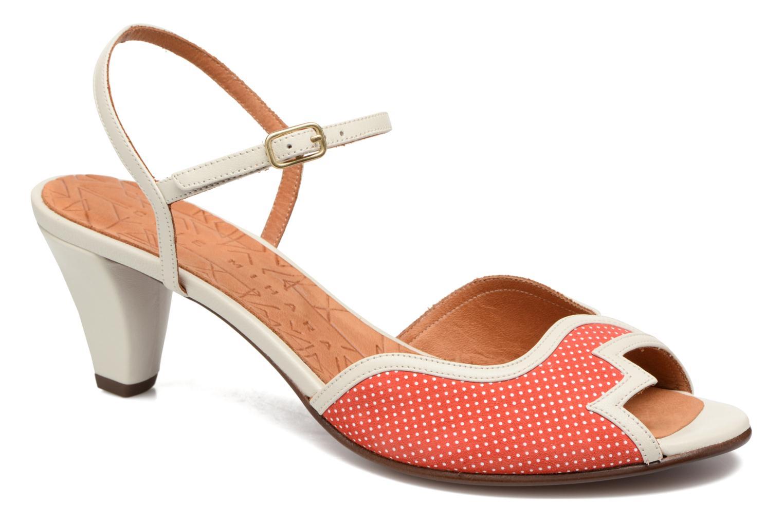 Sandals Chie Mihara Waya Red detailed view/ Pair view