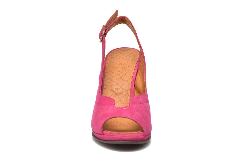 Sandalen Chie Mihara Franca rosa schuhe getragen