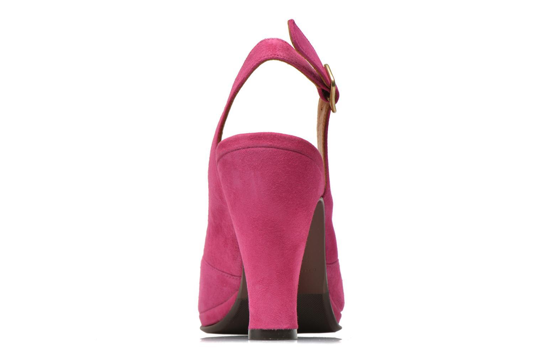 Sandalen Chie Mihara Franca rosa ansicht von rechts