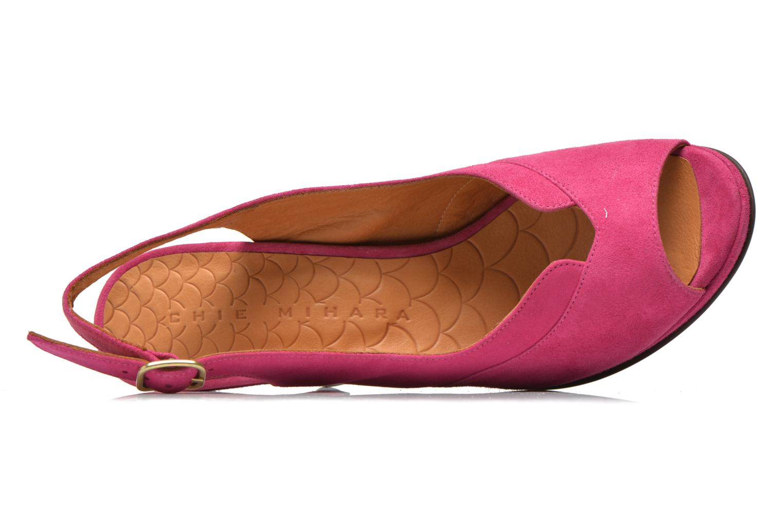 Sandalen Chie Mihara Franca rosa ansicht von links