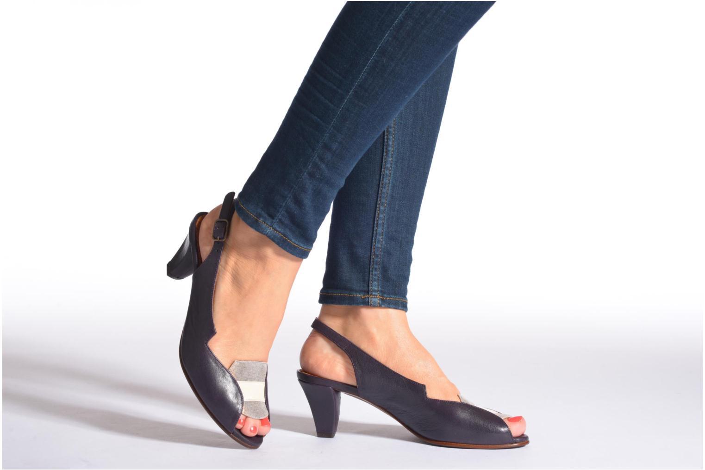 Sandalen Chie Mihara Winka mehrfarbig ansicht von unten / tasche getragen