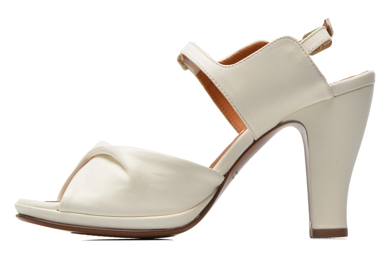 Sandales et nu-pieds Chie Mihara Bri Fira Blanc vue face