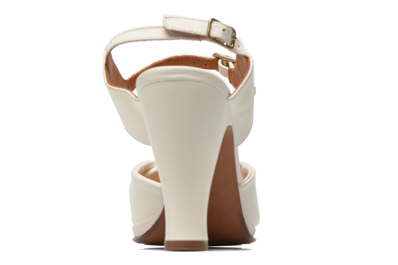 Sandales et nu-pieds Chie Mihara Bri Fira Blanc vue droite