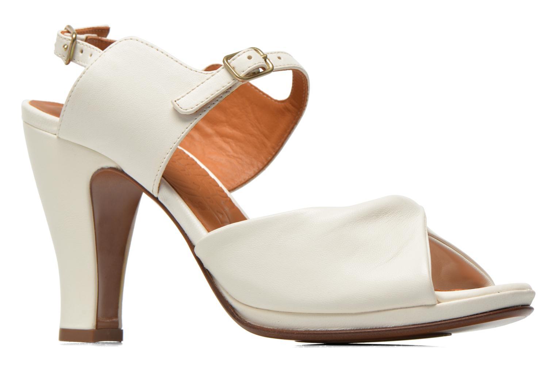 Sandales et nu-pieds Chie Mihara Bri Fira Blanc vue derrière
