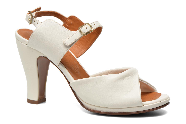 Sandales et nu-pieds Chie Mihara Bri Fira Blanc vue détail/paire