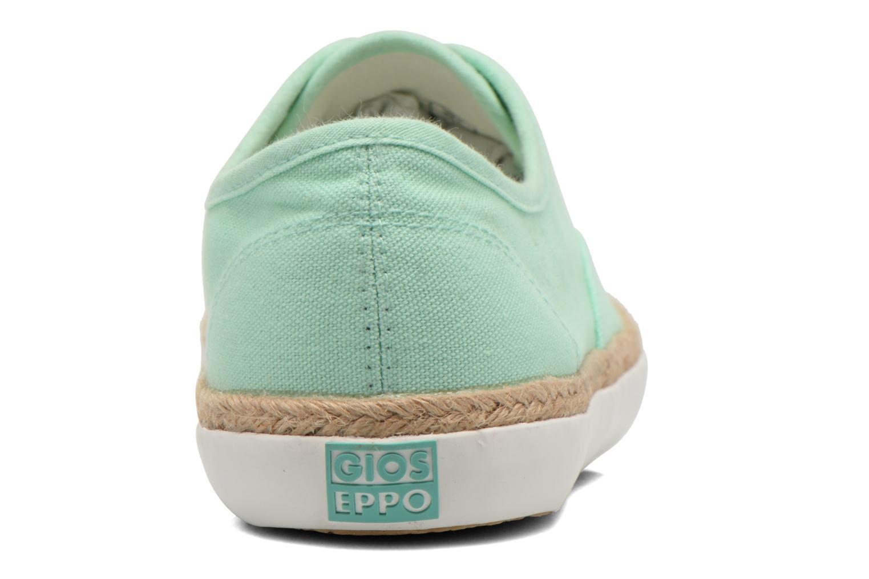 Sneaker Gioseppo Mima grün ansicht von rechts