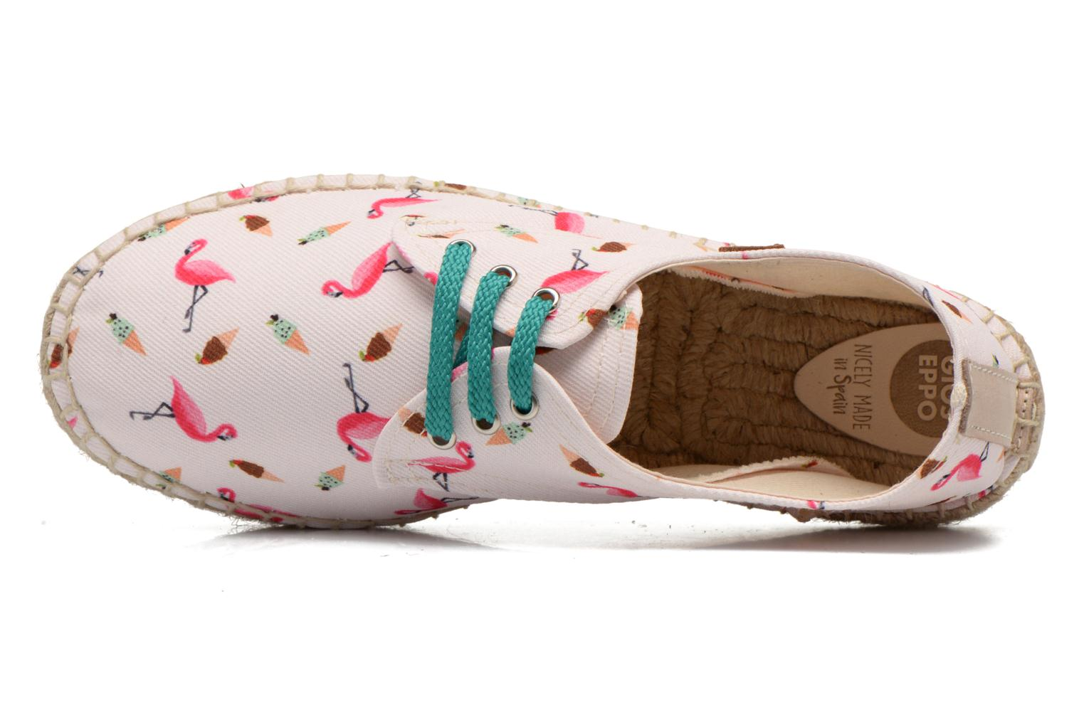 Espadrilles Gioseppo Lapinta Beige view from the left