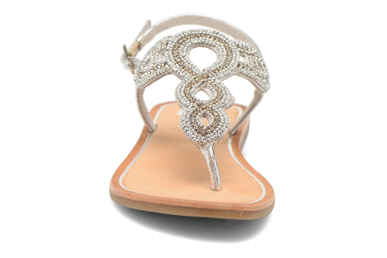 Sandalen Gioseppo Ami silber schuhe getragen