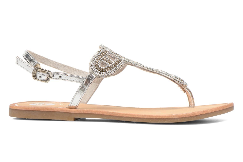 Sandales et nu-pieds Gioseppo Ami Argent vue derrière