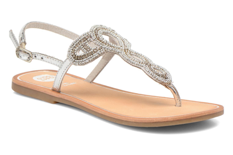 Sandales et nu-pieds Gioseppo Ami Argent vue détail/paire